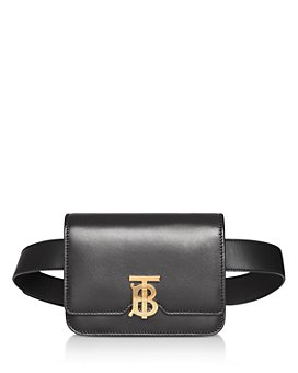 Burberry - Belted Leather TB Bum Bag