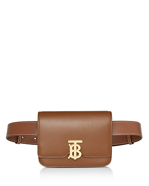 Burberry Belted Leather Tb Bum Bag