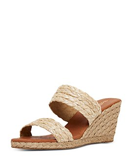 Andre Assous - Women's Nolita Slip On Espadrille Wedge Sandals