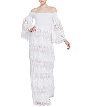Alice and Olivia - Roseline Lace Maxi Dress