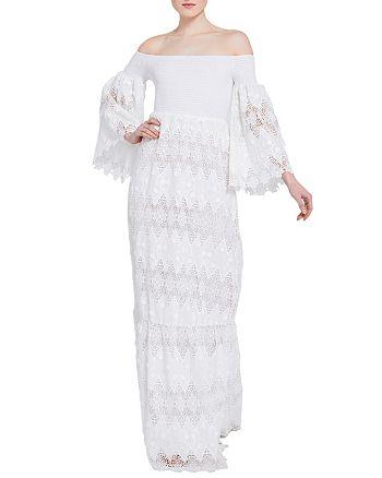 Alice and Olivia - Roseline Lace Maxi Dress