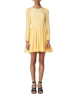 Maje - Roseau Jacquard Dress