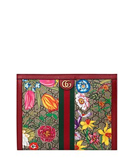 Gucci - Ophidia GG Flora Pouch