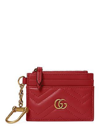 Gucci - GG Marmont Keychain Wallet