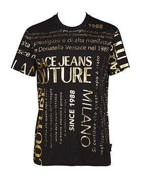Versace Jeans Couture - Gold Foil Logo Slim Fit Tee