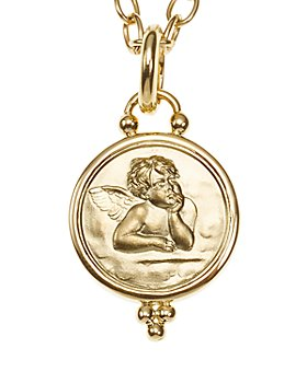 Temple St. Clair - 18k Gold 14mm Angel Pendant