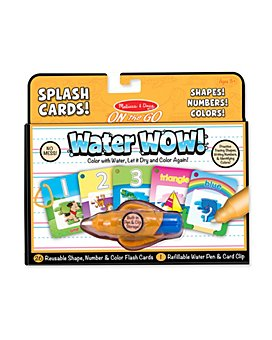Melissa & Doug - Water Wow! Shapes, Numbers & Colors Splash Cards- Ages 3+