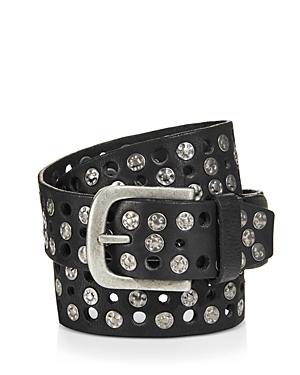 Frye Studded Leather Belt-Men