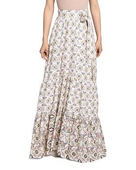 A.L.C. - Caroline Floral Print Tie Waist Skirt