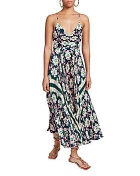 A.L.C. - Gemini Printed Pleated Dress