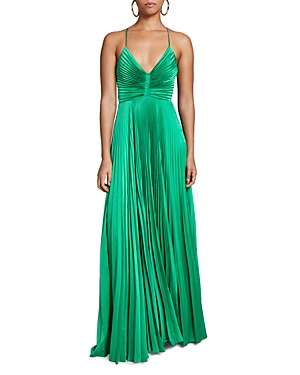 A.l.c. Aries Pleated Open Back Dress-Women