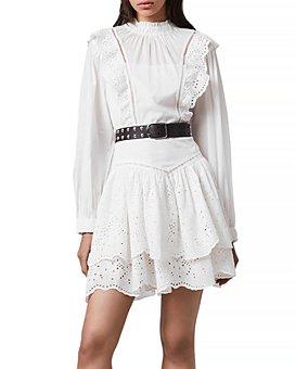 ALLSAINTS - Aislyn Broderie Anglaise Dress
