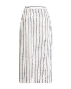 BCBGeneration - Striped Midi Skirt
