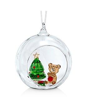 Swarovski - Ball Ornament, Christmas Scene