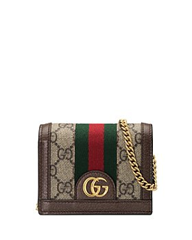 Gucci - Ophidia GG Chain Card Case Wallet