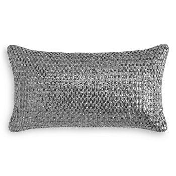 """Hudson Park Collection - Crespare Decorative Pillow, 22"""" x 12"""""""