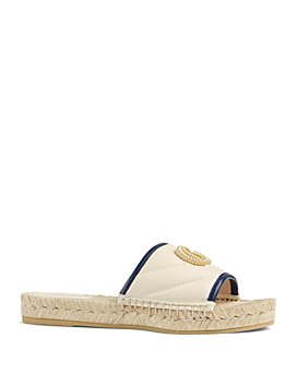 Gucci - Women's Pilar Leather Espadrille Sandals