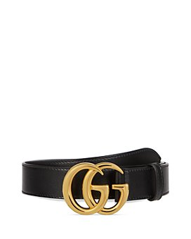 Gucci - Men's Marmont Shiny Leather Belt