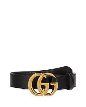 Gucci - Men's Marmont Shiny Leather Belt