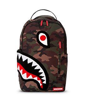 Sprayground - Boys' Torpedo Shark Camo Print Backpack