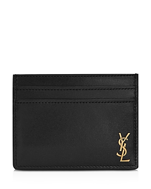 Saint Laurent Monogram Card Case-Men