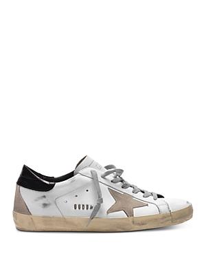 Golden Goose Deluxe Brand Men's Men's Super-Star Low Top Sneakers