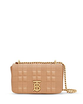 Burberry - Lola Mini Quilted Leather Crossbody Bag