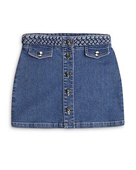 Chloé - Girls' Braided Denim Skirt - Big Kid