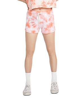 ALTERNATIVE - Tie Dyed Cozy Shorts