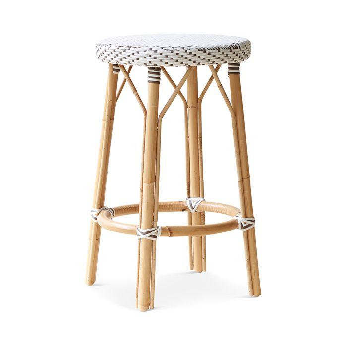 Sika Design - Simone Rattan Bistro Counter Stool
