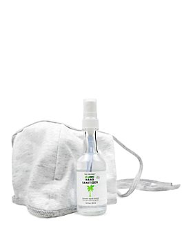 Skinny & Co. - All Natural Hand Sanitizer & Washable Face Mask Set
