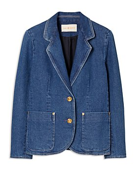 Tory Burch - Two Button Denim Blazer