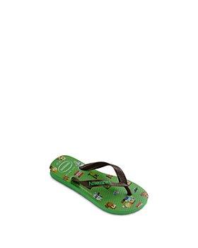 havaianas - Boys' Minecraft Flip Flops - Toddler, Little Kid