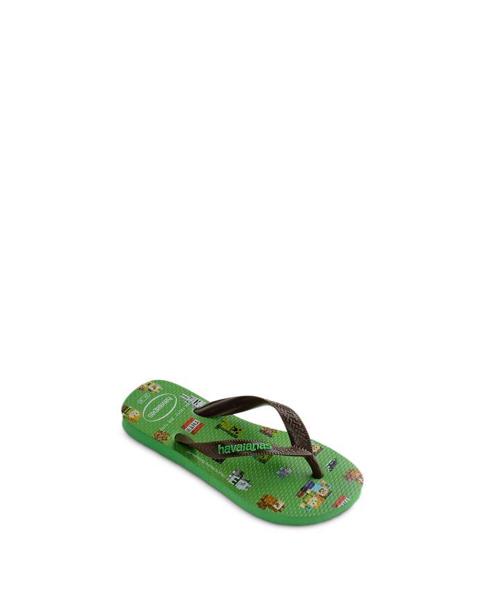 Havaianas Boys' Minecraft Flip Flops - Toddler, Little Kid    Bloomingdale's