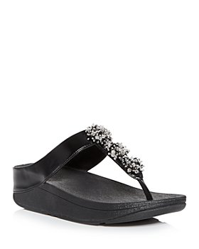 FitFlop - Women's Galaxy Wedge Thong Sandals