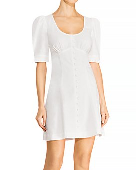 Parker - Kierra Linen & Cotton Mini Dress