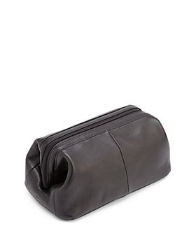 ROYCE New York - Classic Leather Toiletry Bag