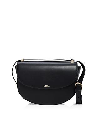A.p.c. Sac Geneve Leather Shoulder Bag