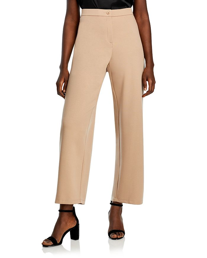 Eileen Fisher Plus - Straight Knit Ankle Pants