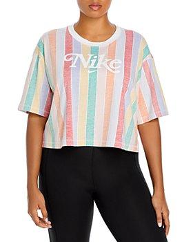Nike Plus - Striped Logo Top