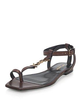 Saint Laurent - Women's Cassandra T Strap Sandals