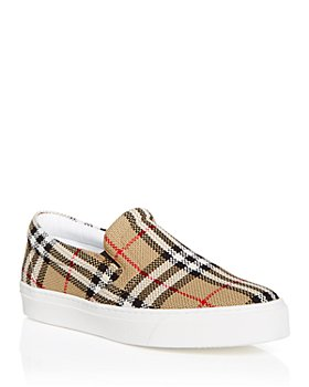 Burberry - Men's Thompson Vintage Check Slip On Sneakers