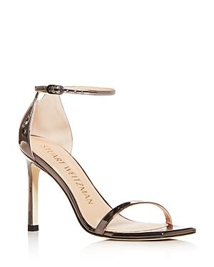 Stuart Weitzman Women\\\'s Amelina Square Toe High Heel Sandals