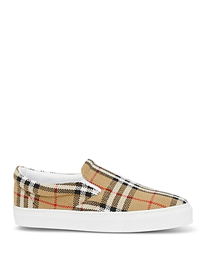 Burberry Women\\\'s Thompson Vintage Check Slip On Sneakers