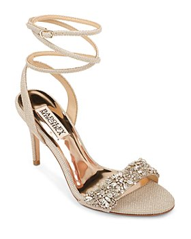 Badgley Mischka - Women's Jen Embellished Strappy High-Heel Sandals