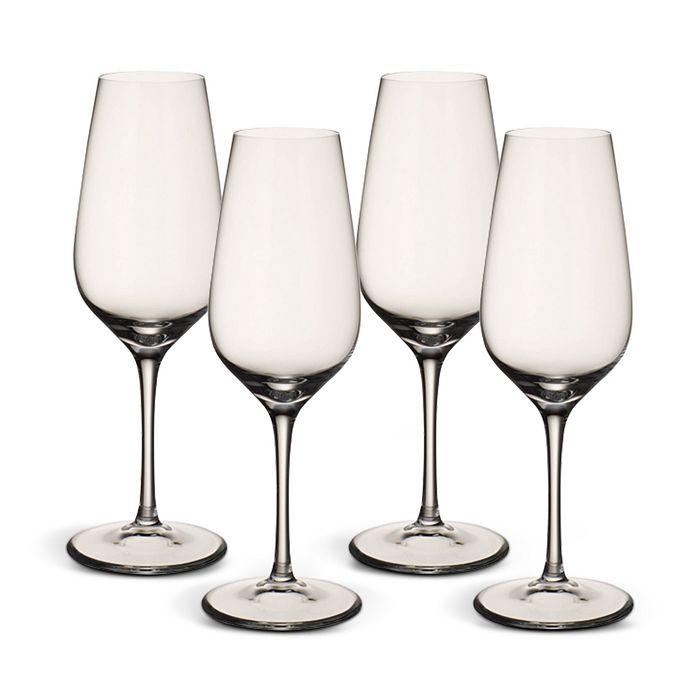 Villeroy & Boch - Entree Flute Champagne Glasses, Set of 4