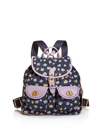 COACH - Floral Cargo Backpack