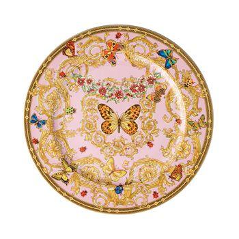 Versace - Versace Butterfly Garden Service Plate