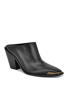 Sigerson Morrison - Women's Fallon Slip On Mule Pumps