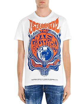 DSQUARED2 - Retro Caten Brothers Cotton Graphic Tee